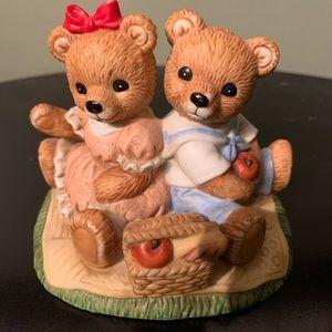 Home interior bear couple